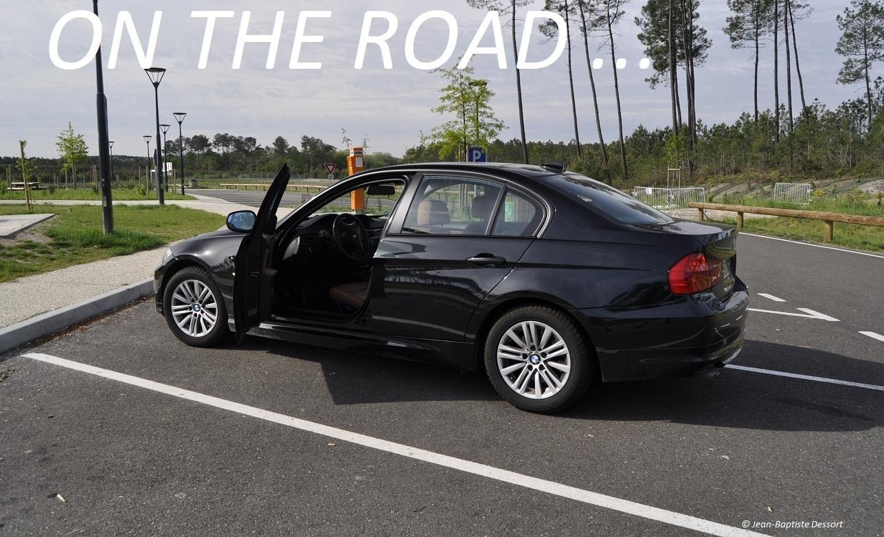 on the road la bmw 318d au grand prix de pau 2012 le billet auto passion automobile. Black Bedroom Furniture Sets. Home Design Ideas