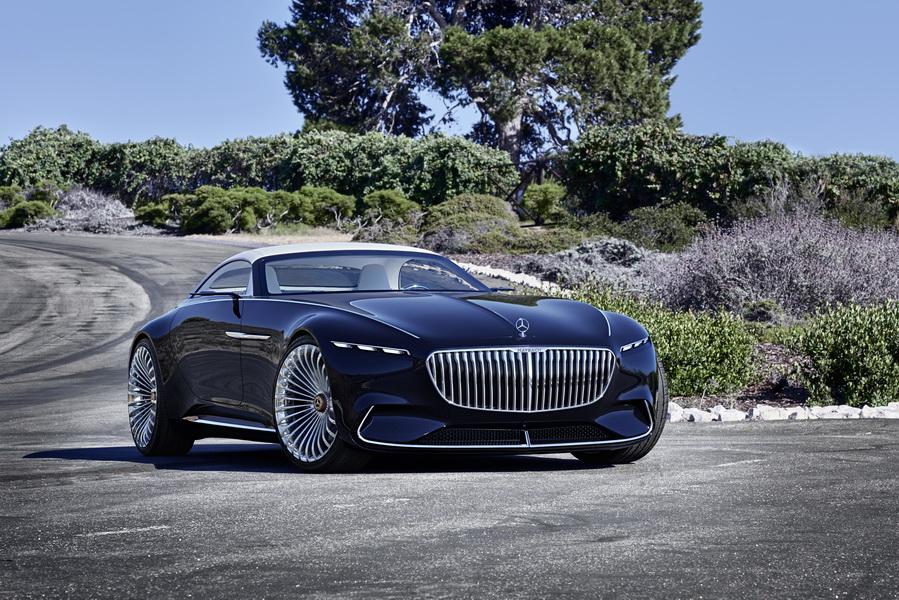 Pebble Beach Vision Mercedes Maybach 6 Cabriolet Le